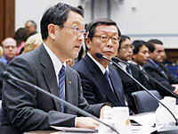 米公聴会で豊田社長が証言