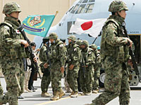 クウェート到着の撤収部隊