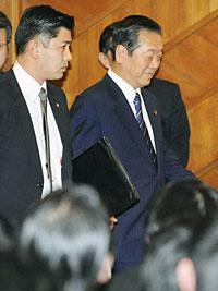 民主党の小沢幹事長