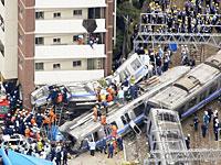 福知山線の脱線事故現場